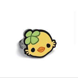 BRAND NEW Kawaii Duck / Chicken Adjustable Ring